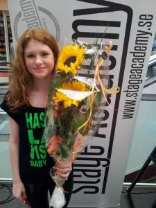 Vinnaren Nina Stenbrink