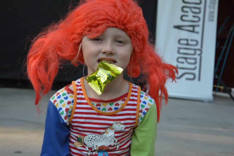 Världens starkaste tjej gillade också Delicatobollen.