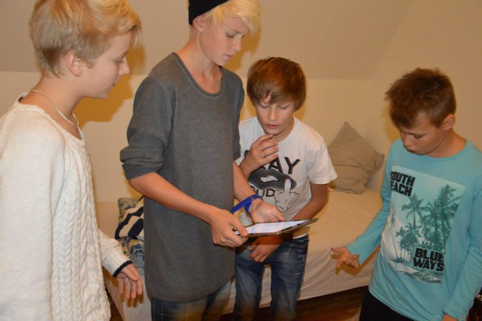 Andreas, Anton, Vilhelm, Isak