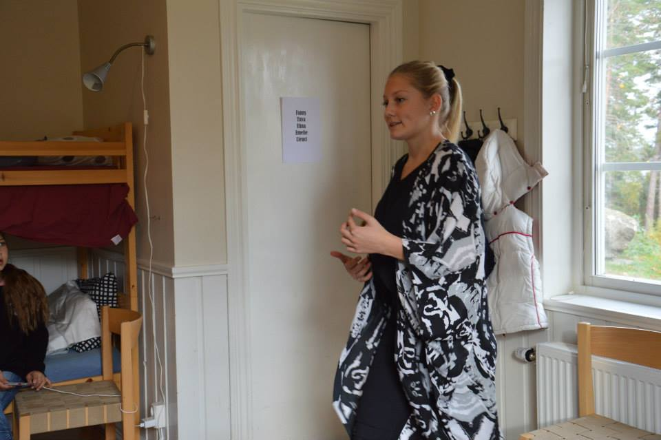 Amanda Levin coachar deltagarna