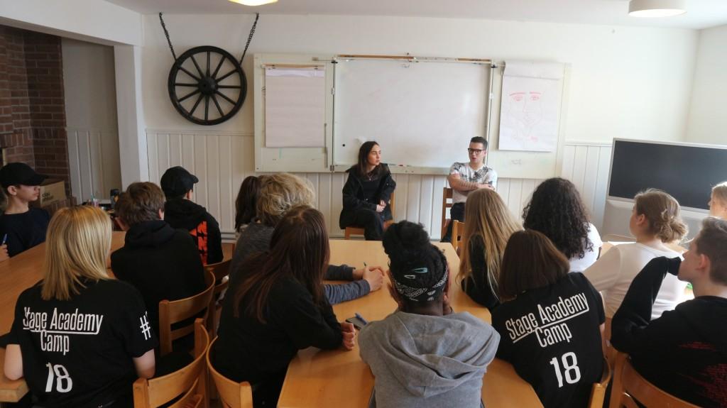 Workshop med Anfisha och Sebastian